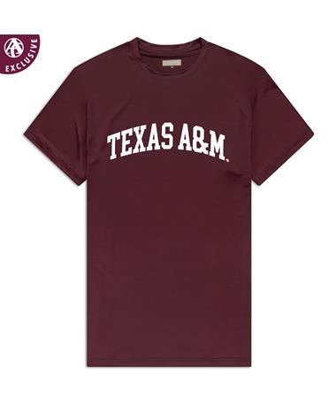 Texas A&M Simple Arch Performance T-Shirt