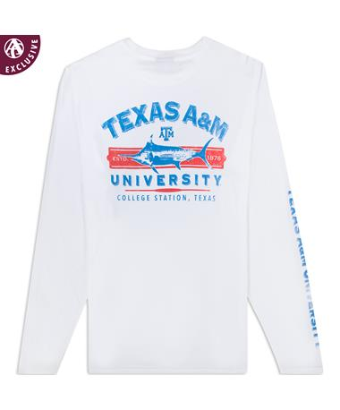 Texas A&M Offshore Outdoors Long Sleeve T-Shirt
