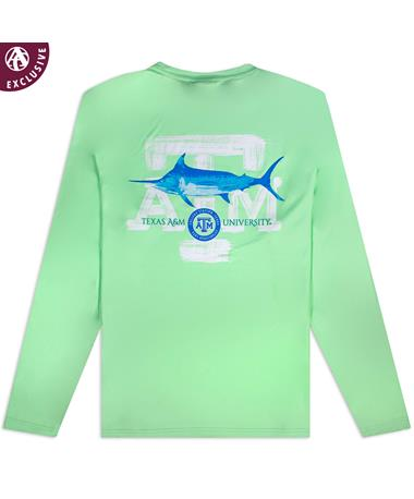 Texas A&M Marlin Time Long Sleeve Shirt
