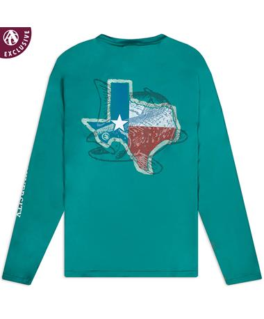 Texas A&M Outdoor Texas Long Sleeve Shirt