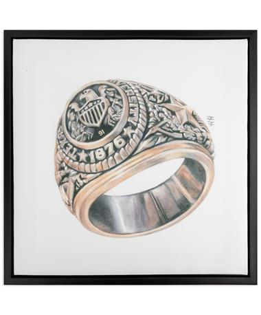 Texas A&M Aggie Ring Canvas with Class Year Customization