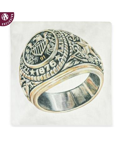 Texas A&M Aggie Ring Pillow with Class Year Customization