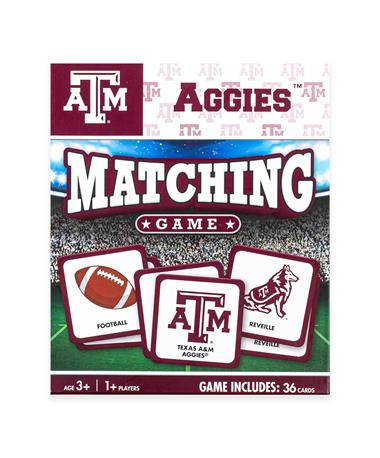 Texas A&M Card Matching Game