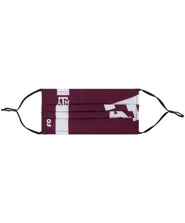 Texas A&M Stripe Big Logo Face Cover