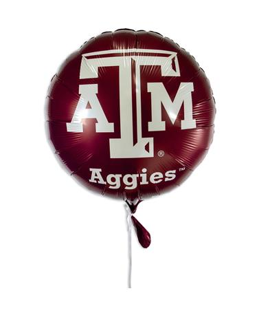 Texas A&M Foil Balloon