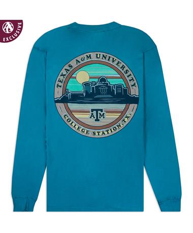 Texas A&M Aggie Station Long Sleeve T-Shirt