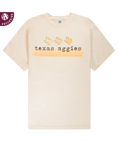 Texas A&M 3 Texas Stripes T-Shirt