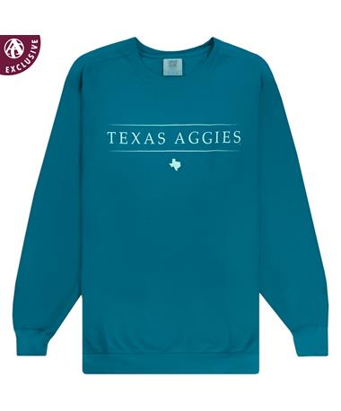 Texas A&M Linear Texas Aggies Sweatshirt