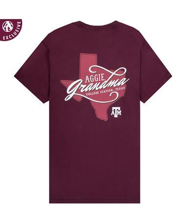 Texas A&M Aggie Script Grandma T-Shirt