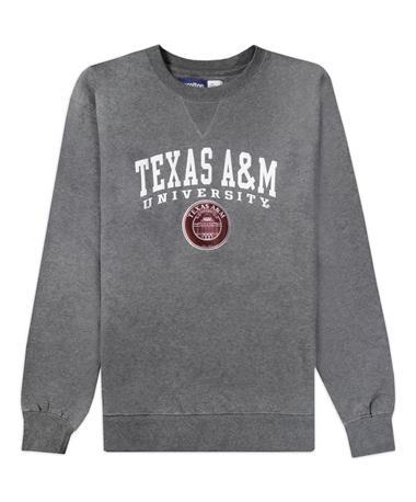 Texas A&M Seal Big Cotton Crew Sweatshirt