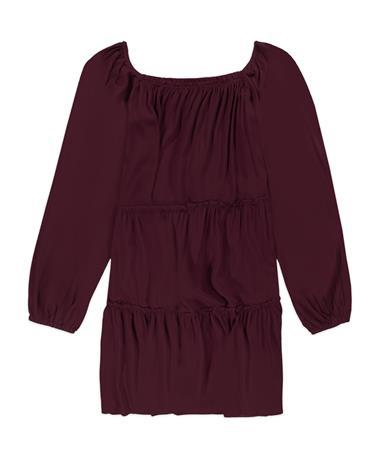 Maroon Lelis Dress