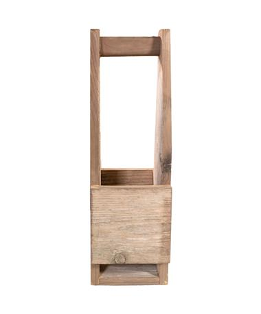 Single Rustic Wine Tote
