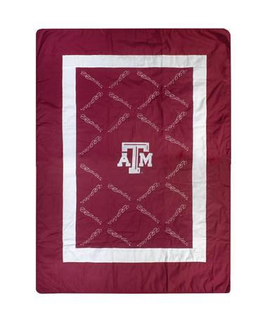 Texas A&M 60x96 Aggies Quilt