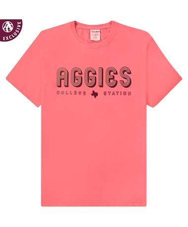 Texas A&M Bold Stripe Aggies T-Shirt