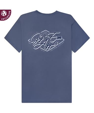 Texas A&M Gig 'Em Aggies Diamond T-Shirt