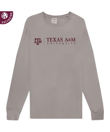 Texas A&M University Grey Long Sleeve