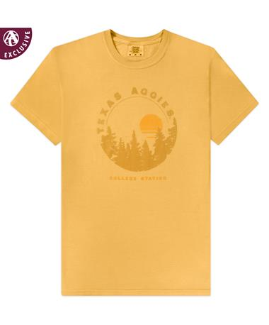 Texas A&M Treeline Sunset T-Shirt
