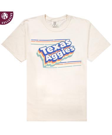 Texas A&M Aggies Layered Stripes T-Shirt