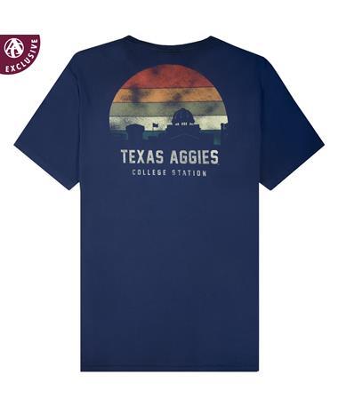 Texas A&M Academic Sunset T-Shirt