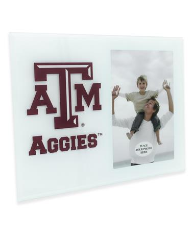Texas A&M Aggies Glass Picture Frame