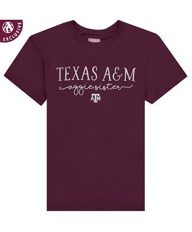 Texas A&M Aggie Sister T-Shirt