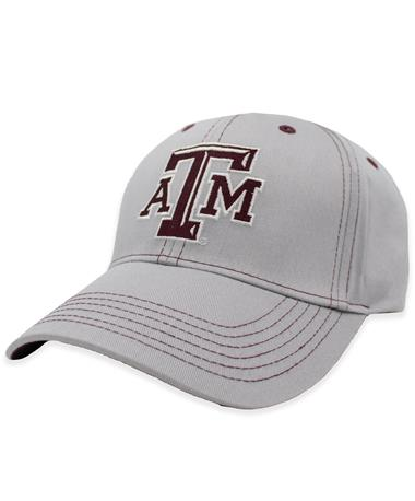 Texas A&M Gray Stitching Hat