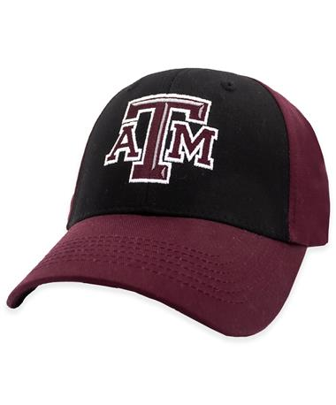 Texas A&M Two Tone Black & Maroon Hat