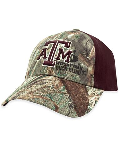 Texas A&M Two Tone Camo Hat