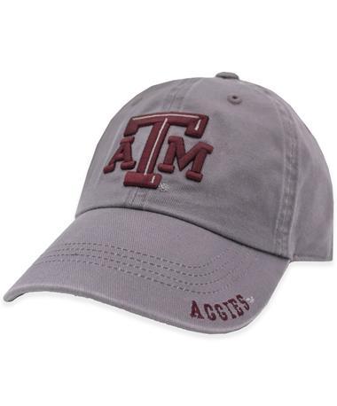 Texas A&M Gray Aggies Bill Hat