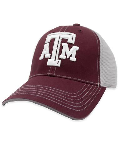 Texas A&M Beveled ATM Mesh Back Hat