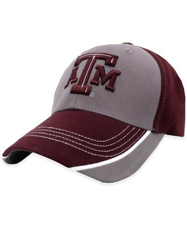 Texas A&M Maroon & Gray Bill ATM Hat