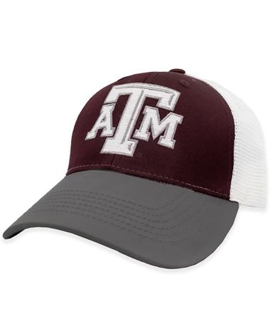 Texas A&M Mesh Beveled ATM Hat