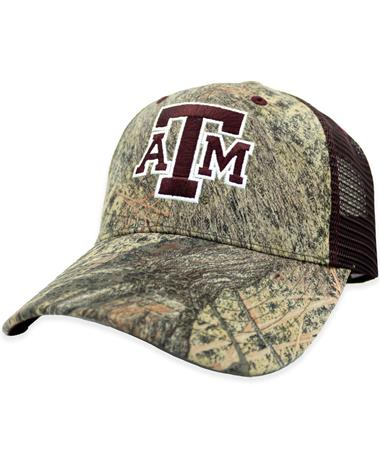 Texas A&M Mossy Oak Mesh Back Hat