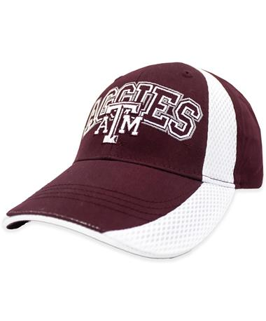 Aggies White Line Hat