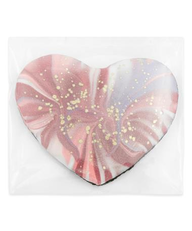 Vanilla Marble Heart Cookie