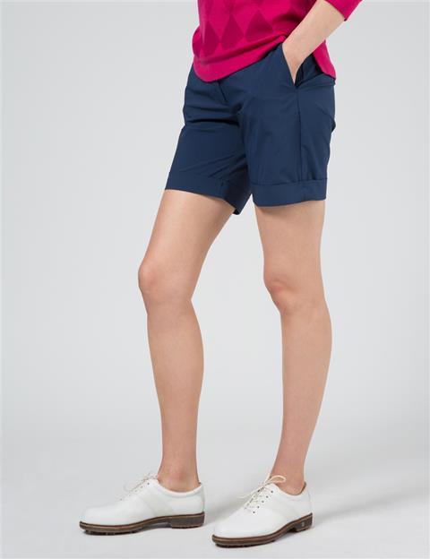 Womens Klara Micro Stretch Shorts Navy/Purple