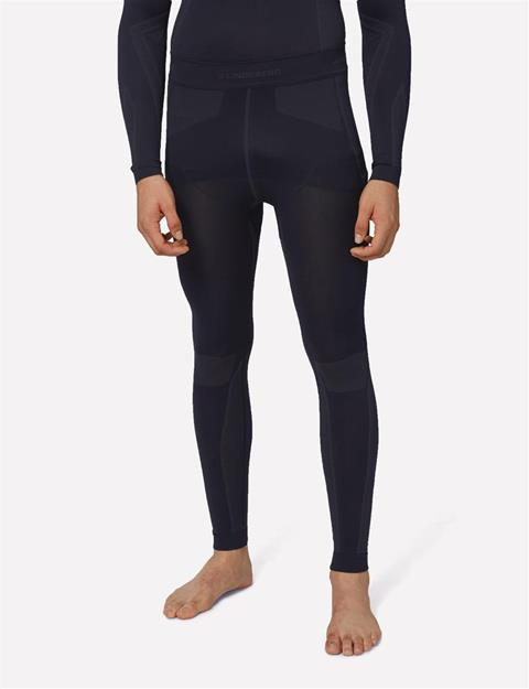 Mens Body Mapping Tights Black