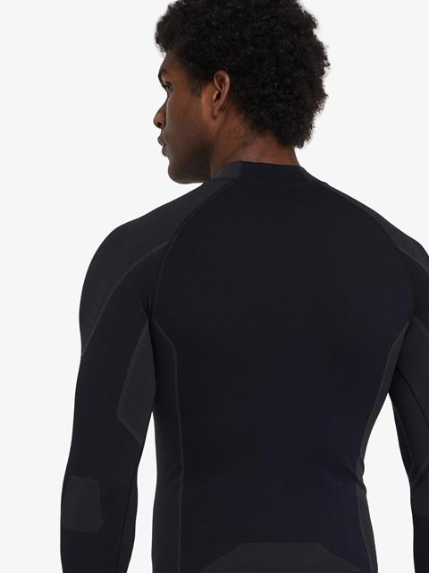 Mens Body Mapping Top Black