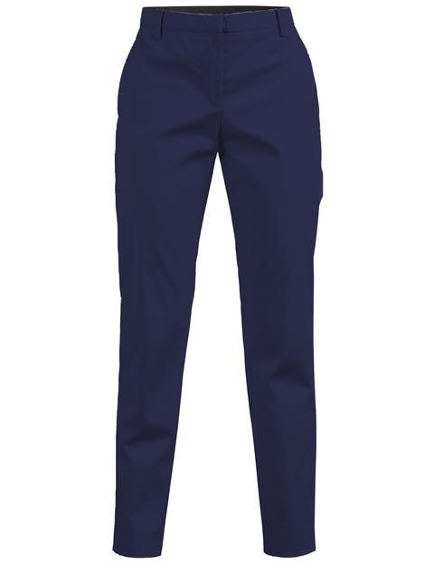 Womens Nova Glossy Stretch Pants Navy