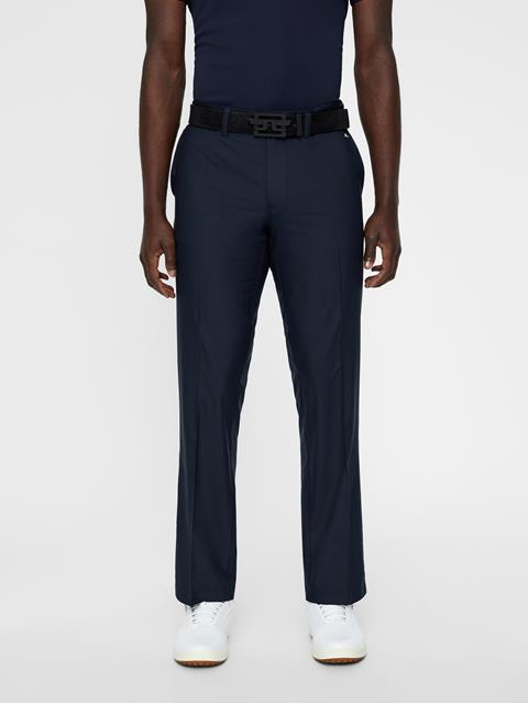 Mens Elof Reg Light Poly Pants JL Navy