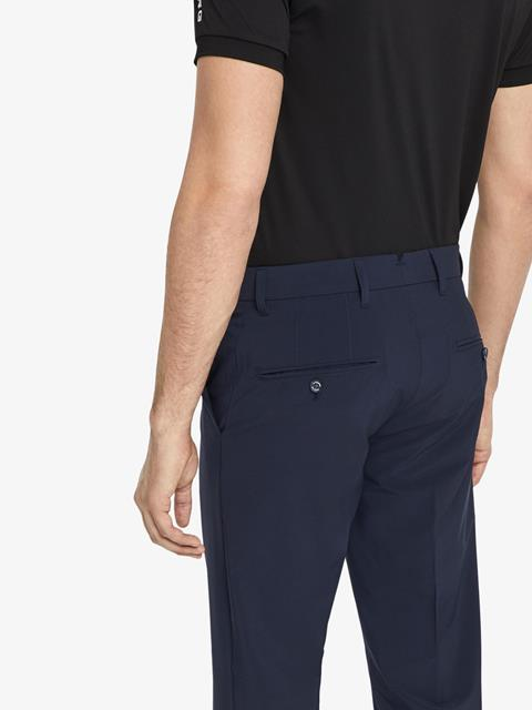 Mens Ellott Micro Stretch Pants JL Navy