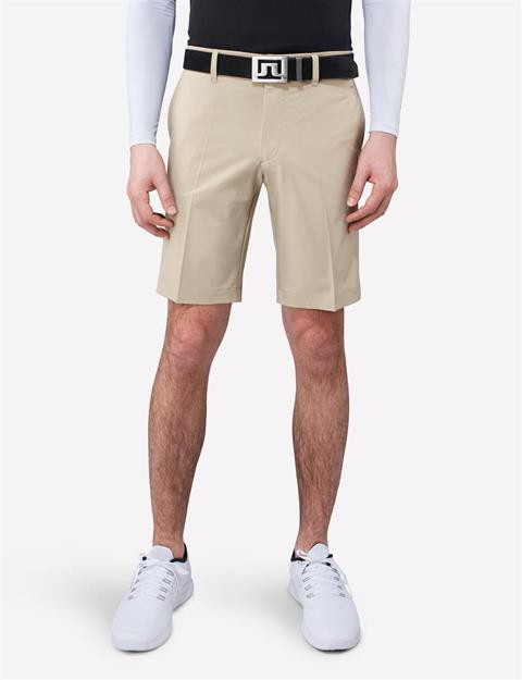 Mens Eloy Micro Stretch Shorts Beige