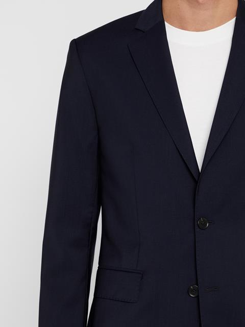 Mens Hopper Soft Comfort Wool Blazer Navy