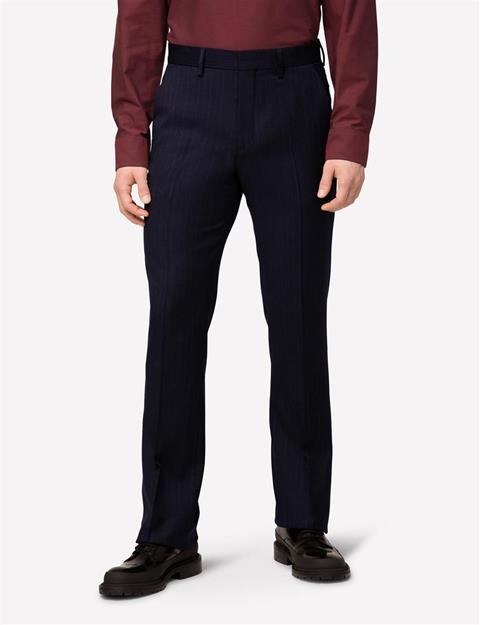Mens Bootsy Fancy Wool Pants Antrasit