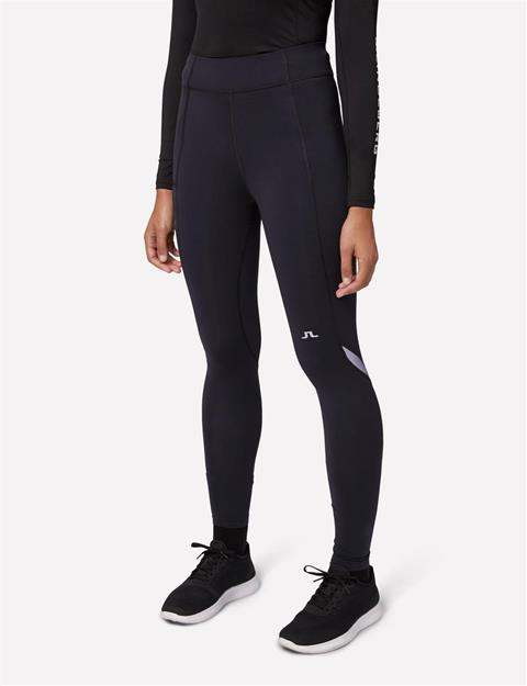 Womens Compression Running Tights Black