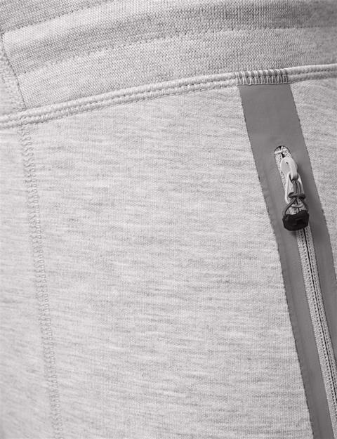 Womens Athletic Tech Sweatpants Stone Grey Melange