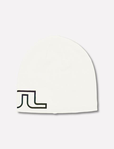 Mens Logo Wool Blend Hat White