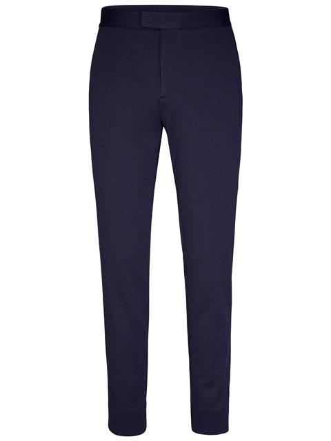 Mens Sasha Double Jersey Pants Blue Depths