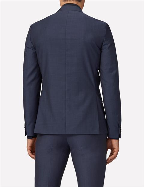 Mens Hopper Soft Wool Mohair Blazer Majolica blue