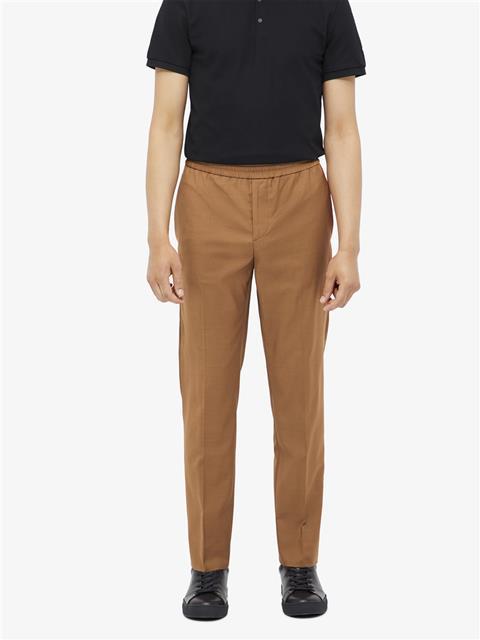 Mens Sasha Comfort Wool Pants Glazed Ginger